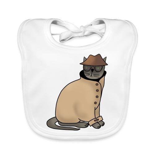 Secret cat - Baby Organic Bib