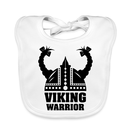 Viking Warrior - Lady Warrior - Vauvan luomuruokalappu
