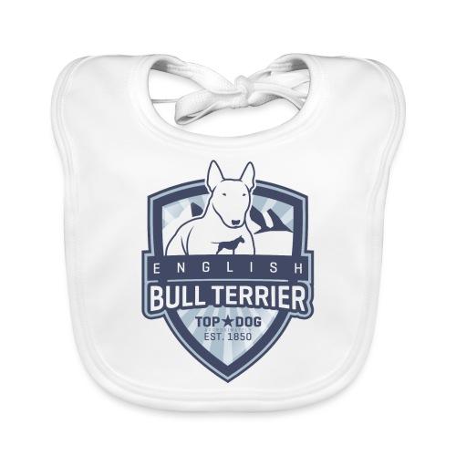 English Bull Terrier Mountains - Baby Bio-Lätzchen