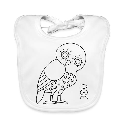 Owl of Athena - Baby Organic Bib