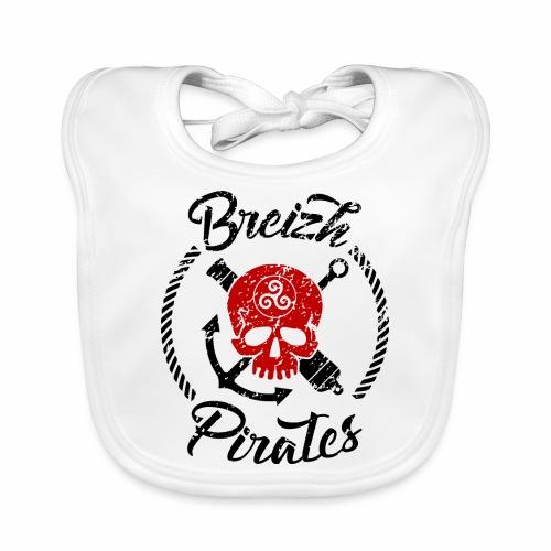 Breizh Pirates Usé - Bavoir bio Bébé