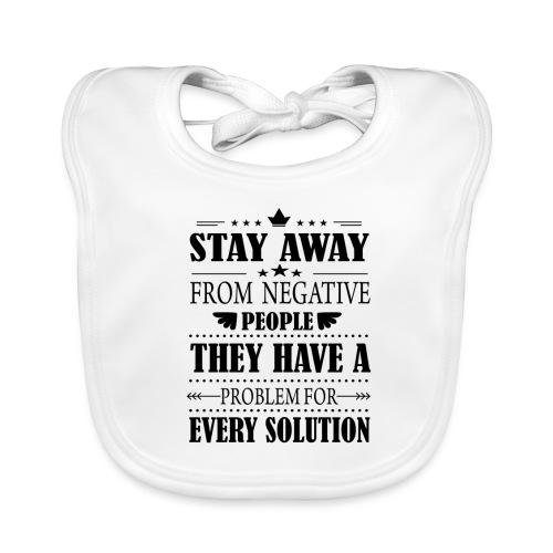 Stay away - Vauvan luomuruokalappu