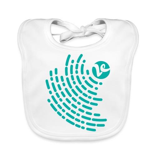 VTRAINER HEART - Babero de algodón orgánico para bebés