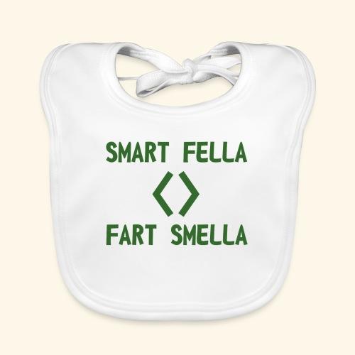 Smart fella - Bavaglino ecologico per neonato