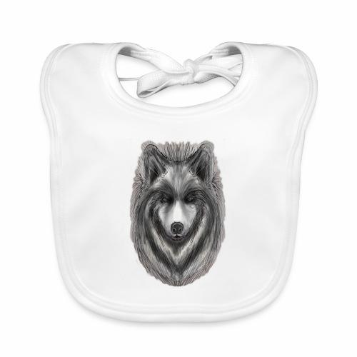 Foxy Wolf by Jon Ball - Baby Organic Bib