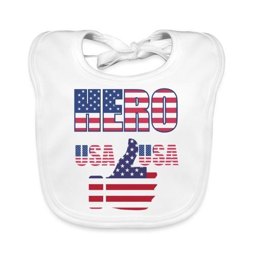Hero USA - Baby Bio-Lätzchen