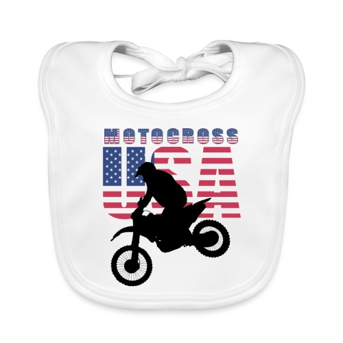 USA Motocross Riders and Bikers - Baby Bio-Lätzchen