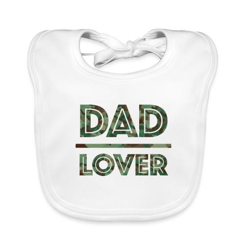 DAD LOVER - Ekologisk babyhaklapp