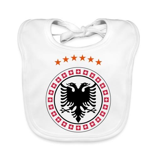 Albanien Kosovo Schweiz - Baby Bio-Lätzchen