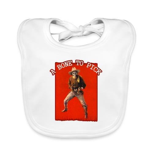 Vintage Skeleton Outlaw Cowboy - Baby Organic Bib