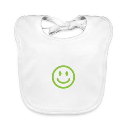 Peace Begins with a Smile - Baby Organic Bib