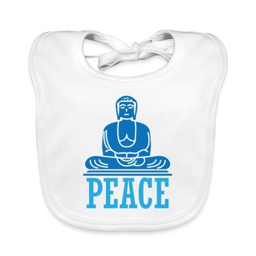 Buddha Meditating. - Baby Organic Bib