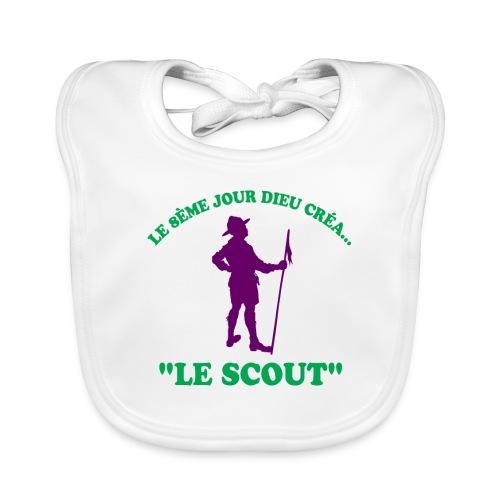 La merveille de Dieu: Le Scout! - Bavoir bio Bébé