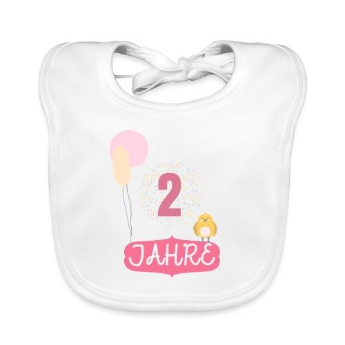 2 Jahre // Geschenk zum 2. Geburtstag - Baby Bio-Lätzchen