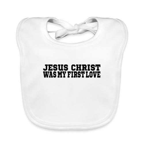 Jesus Christus Lieben - Baby Bio-Lätzchen