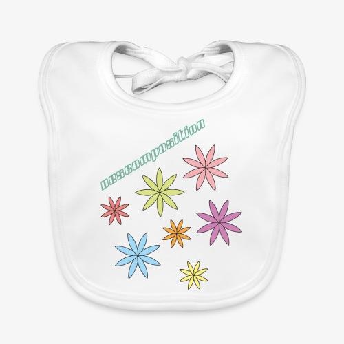 SOLRAC composition - Babero de algodón orgánico para bebés
