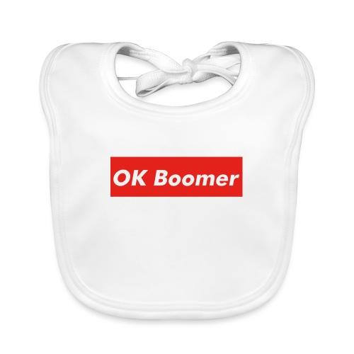 OK Boomer Meme - Baby Organic Bib