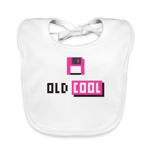 old and cool Diskette retro look - Baby Bio-Lätzchen
