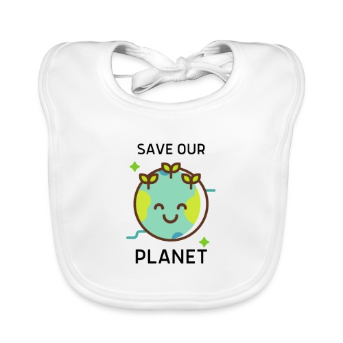 Save our planet LIGHT - Baby Organic Bib