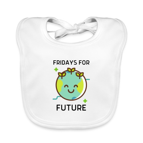 Fridays for Future LIGHT - Baby Organic Bib