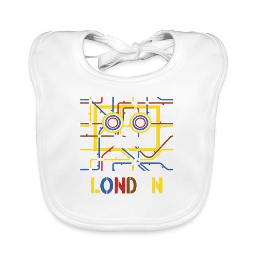 London Tube Map Underground - Baby Bio-Lätzchen