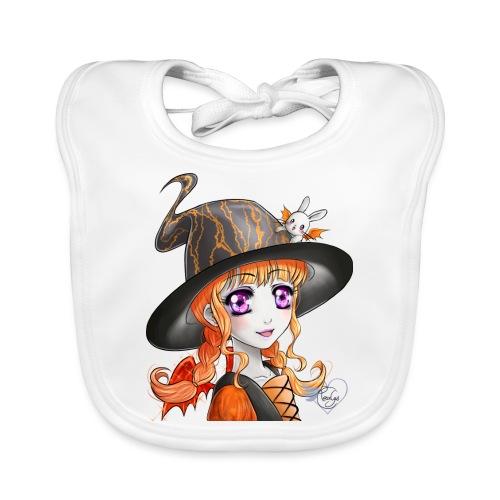 Miss Halloween - Bavoir bio Bébé