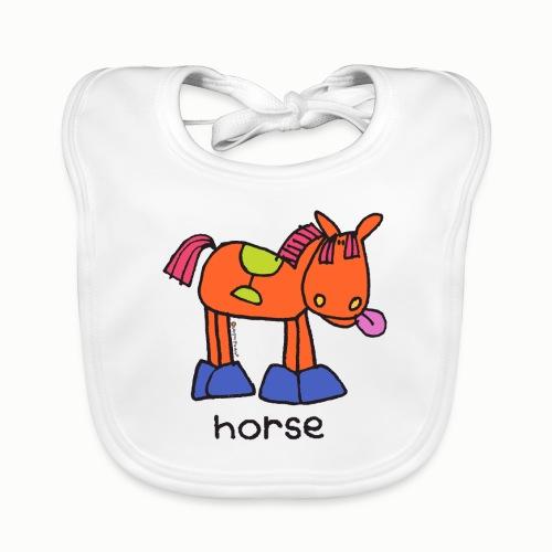 horse - Organic Baby Bibs