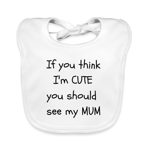 Cute Mum - Baby Organic Bib