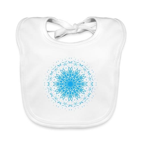 Mandala of ice - Baby Organic Bib
