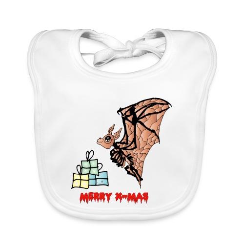 Merry X-MAS - Baby Bio-Lätzchen