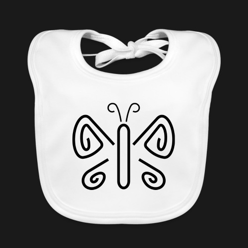 papillon - Baby Bio-Lätzchen
