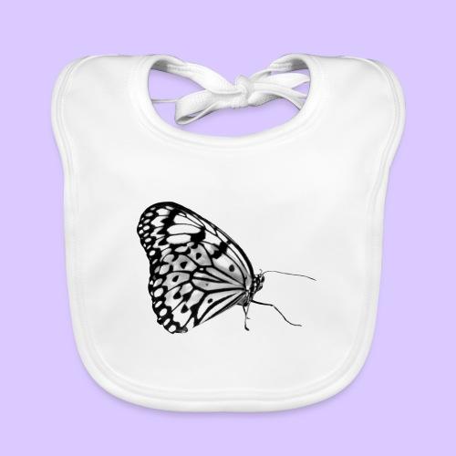 Schmetterling, Schmetterlinge, Insekt, Natur - Baby Bio-Lätzchen