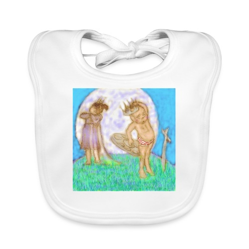 Arthur & Guinevere.. before things got complicated - Organic Baby Bibs