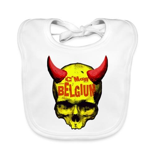 Belgium Devil 2 - Bio-slabbetje voor baby's