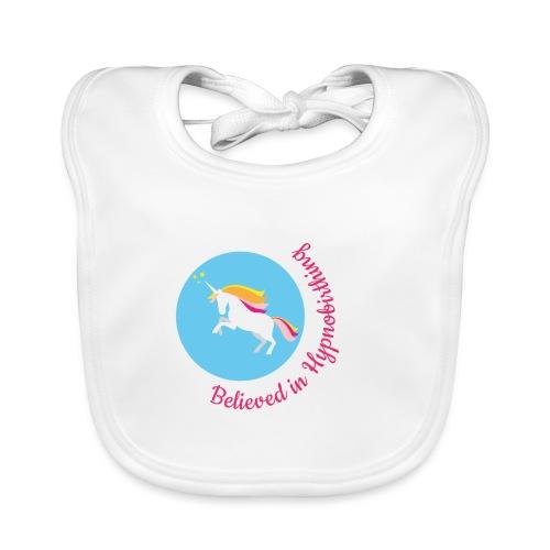 unicorn pink hypnobirth - Baby Organic Bib