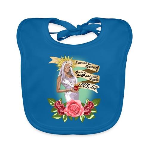 Mama RuPaul - Babero de algodón orgánico para bebés