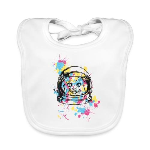 Space Cat - Baby Bio-Lätzchen
