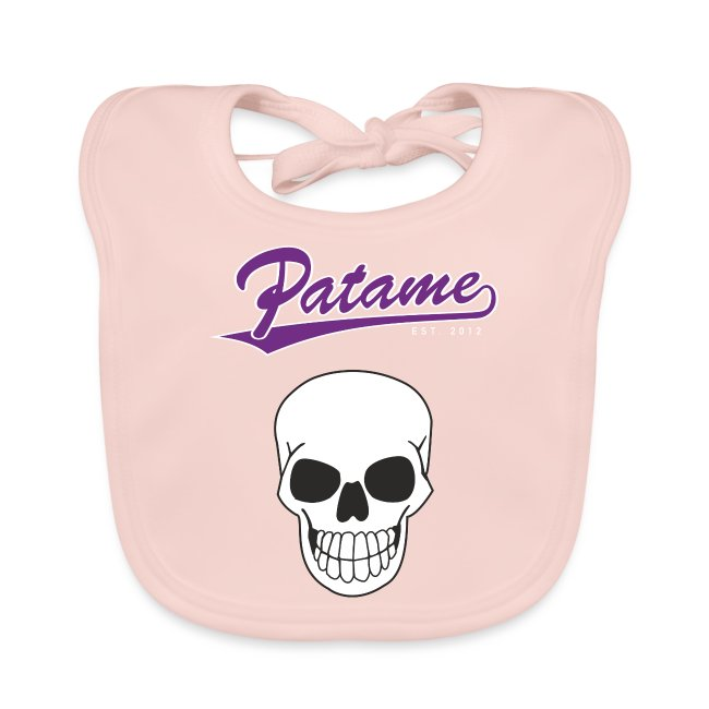 Patame Purple White Skull