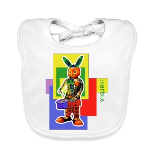 smARTkids - Slammin' Rabbit - Baby Organic Bib