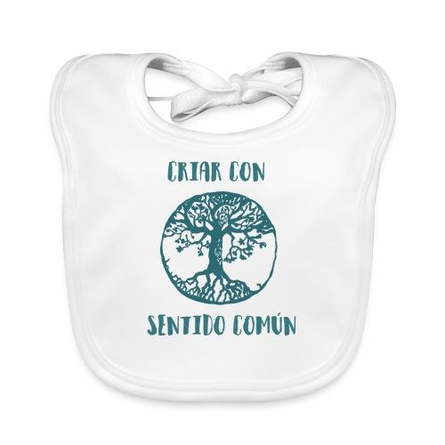 Árbol de la vida - Babero de algodón orgánico para bebés