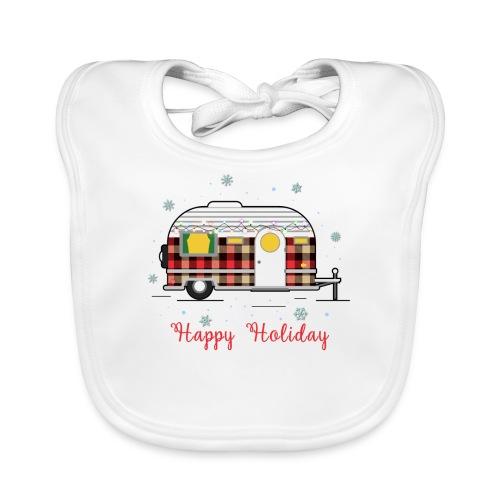 Happy Holiday Caravan - Baby Organic Bib