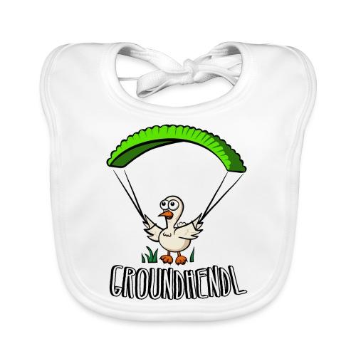 Groundhendl Groundhandling Hendl - Baby Bio-Lätzchen