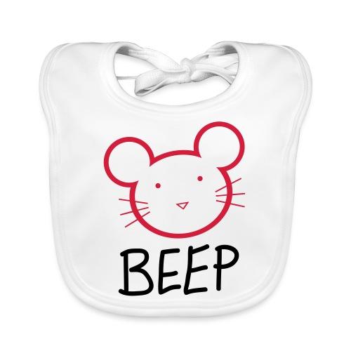 BEEP MOUSE - Baby Bio-Lätzchen