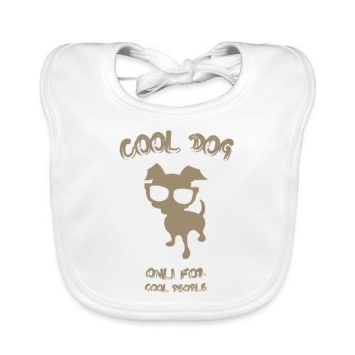 COOL DOG Tortora - Bavaglino ecologico per neonato