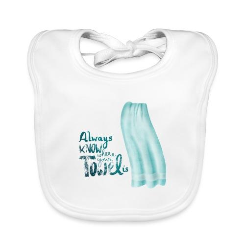 Always know where your towel is - Baby Bio-Lätzchen