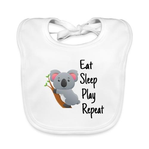 Eat Sleep Play Repeat - Baby Bio-Lätzchen