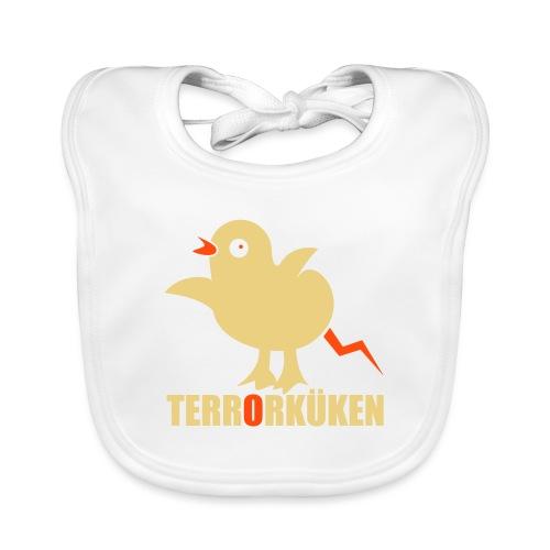Terrorküken - Baby Bio-Lätzchen