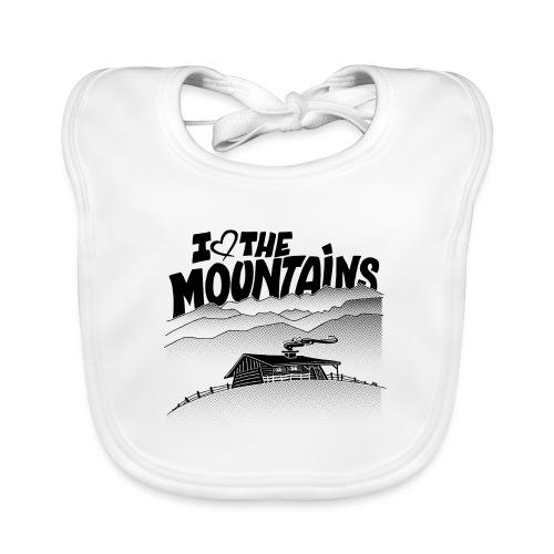 I love The Mountains - Bio-slabbetje voor baby's