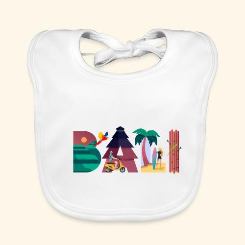 Bali Indonesien Insel Paradies Natur Kultur Ferien - Baby Bio-Lätzchen