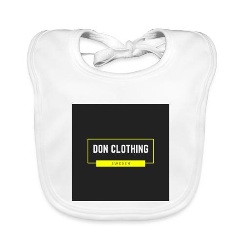 Don kläder - Ekologisk babyhaklapp